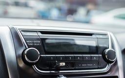 Auto audio control buttons. In car Stock Photos