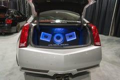 auto audiosysteem Stock Foto