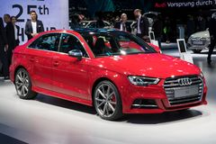Auto Audis A3 Stockbild