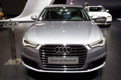 Auto Audis A6 Berline Lizenzfreie Stockbilder