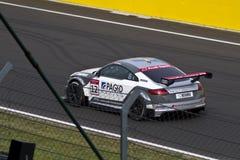 Auto Audis DTM im Rennen stockfoto
