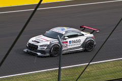 Auto Audis DTM im Rennen stockfotos