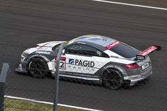 Auto Audis DTM im Rennen lizenzfreies stockfoto