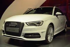 Auto Audis A3 ETron Lizenzfreie Stockfotos