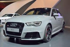Auto Audis RS3 stockbild
