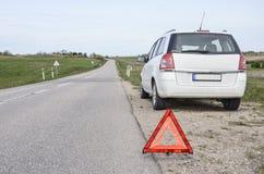 Auto aufgegliedert Lizenzfreie Stockfotos