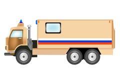 Auto ausgerüstet mit für Transport des Geldes Lizenzfreie Stockfotografie