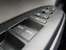 Auto of autoraam en deur automatische controles royalty-vrije stock foto's