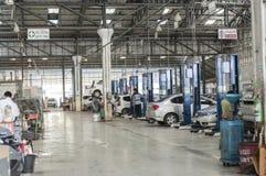 Auto autowinkel stock afbeelding