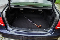 Auto bärare för bagage Arkivfoto