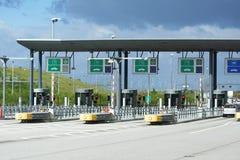Auto bahntol, de passysteem van de Weg Royalty-vrije Stock Afbeelding