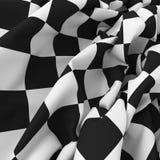 Auto bakgrund för sportrasterflagga Arkivfoton