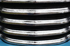 Auto base do azul da grade Imagem de Stock