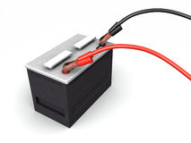 Auto Battery Recharging Royalty Free Stock Photography