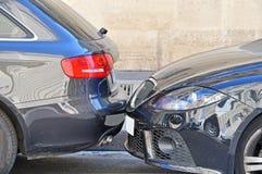 Auto beschädigt Stockfoto