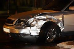 Auto beschädigt stockfotos