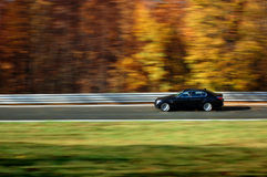 Auto bij snelheid Royalty-vrije Stock Afbeelding