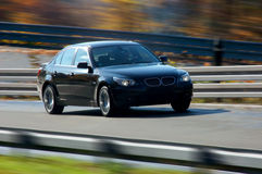 Auto bij snelheid Royalty-vrije Stock Fotografie
