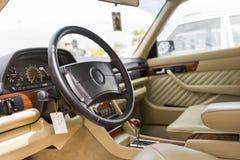 Auto binnen Stock Foto's