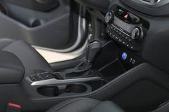 Auto binnen bestuurder royalty-vrije stock afbeeldingen