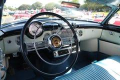 Auto binnenlandse klassieke americana Stock Afbeeldingen