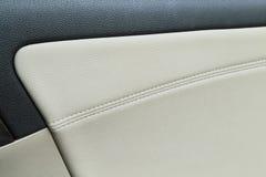 Auto binnenlandse textuur Royalty-vrije Stock Afbeeldingen