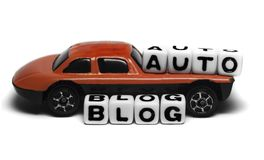 Auto blog Royalty Free Stock Photo