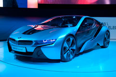 Auto BMW-i8Concept Lizenzfreie Stockfotos