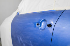 Auto body repair series Royalty Free Stock Image
