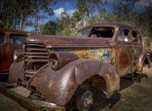 Auto Boneyard Stock Afbeelding