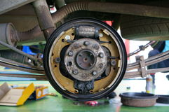Auto brake systems Stock Images