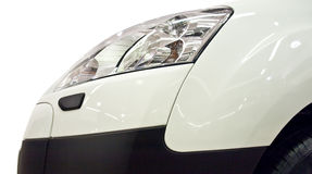 Auto bumper and headlights. View Stock Image