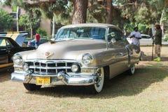 Auto Cadillac-Reihe 62 auf Anzeige Lizenzfreie Stockfotografie