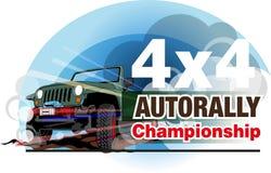 Auto campeonato da reunião Foto de Stock Royalty Free