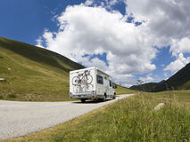 Auto Camper. Motor Home. Auto Camper. Camping on the move Royalty Free Stock Photography