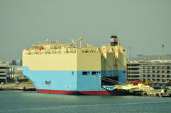 Auto car carrier ship Stock Photography