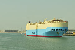 Auto car carrier ship Royalty Free Stock Photography