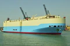 Auto car carrier ship Royalty Free Stock Photos