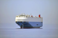 Auto car carrier ship Royalty Free Stock Photo