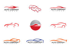 Auto Car Logo Template Stock Images