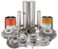 Auto car spare parts Stock Images