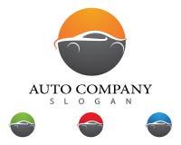 Auto car vector icon. Auto car Logo Template vector icon illustration design Stock Images