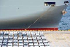 Auto-carrierschip royalty-vrije stock foto