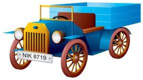 Auto, carro retro, caminhão antigo velho Ilustração Royalty Free