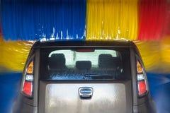 Auto in carwash Royalty-vrije Stock Fotografie