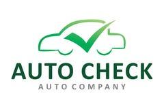 Auto check logo Stock Photos