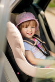 Auto child safety saet Royalty Free Stock Images