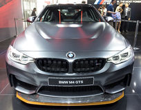 Auto China 2016. BMW M4 GTS in 2016 Beijing International Automotive Exhibition, in May,Beijing city, China Royalty Free Stock Photography
