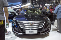 Auto China 2016. Cadillac booth in 2016 Beijing International Automotive Exhibition, in May,Beijing city, China Royalty Free Stock Photos