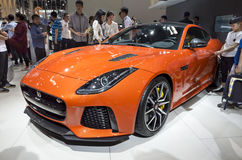 Auto China 2016. CHERY JAGUAR LAND ROVER in 2016 Beijing International Automotive Exhibition, in May,Beijing city, China Stock Photo